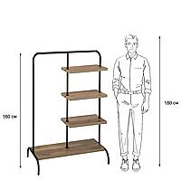 "Стойка для одежды ""Лофт 5"" - 160х100х48,5 см"