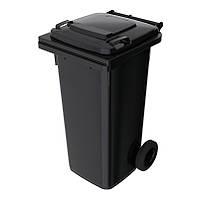Баки для мусора зуло 120 л Sulo Черный