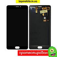 Дисплей для Meizu M3 Max + touchscreen, черный-белый копия высокого качества