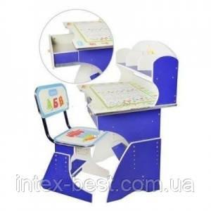 Детская парта со стульчиком трансформер Bambi HB 2882 (стол-парта растишка)