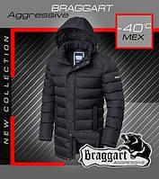 Куртка теплая на меху мужская