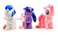 Интерактивная игрушка «Мои маленькие пони» на поводке - 3 вида