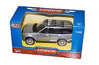 JT Машина Land Rover 3 металлопластик 6524, серая