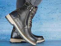 Мужские зимние ботинки Zangak Exclusive Коричневый 10542