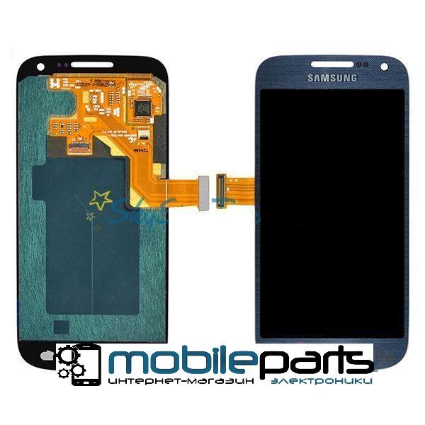Оригинальный Дисплей (Модуль) + Сенсор (Тачскрин) для Samsung i9190 | Galaxy S4 Mini (Синий)