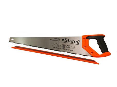 Ножовка по дереву 400 мм крупный зуб, 4 з/д, 2D Sturm 2100301, фото 2