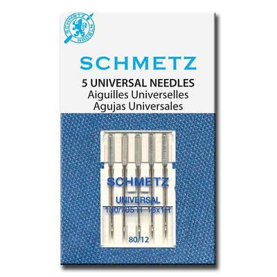 Набор игл «Schmetz» универсальный № 80 (5 шт.)