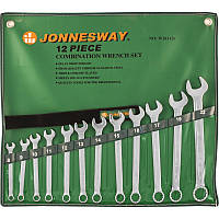 Набор ключей комбинированных Jonnesway 8-22 мм (12 предметов)