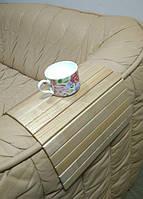 Деревянный подлокотник на диван
