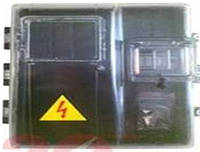 Коробка герметик для 1-фазного счетчика со стеклом (20)
