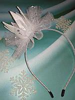 """Обруч  """" Корона с фатином """" на Новый год ."""