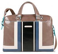 Двуручный портфель Piquadro GRAPHIC с отделом для ноутбука 15 дюймов, натуральная кожа, бежевый CA3335B2SER_TO