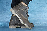 Мужские зимние ботинки PAV Кориченвые 10514