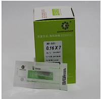 Корпоральные иглы для рефлексотерапии 0,16х7, 500 шт