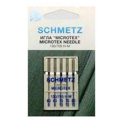 """Набор игл """"Schmetz"""" микротекс № 60-80 (5 шт.)"""