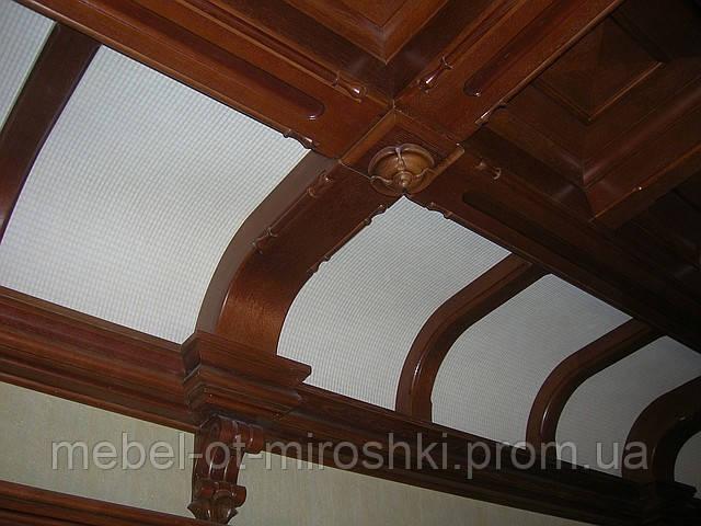 Деревянные декор для ресторана - «Мебель от Мирошки» в Киеве