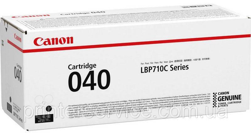 Картридж Canon 040 black для LBP710/712 (0460C001)