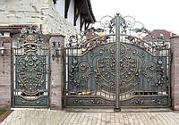 Кованые Ворота и калитка, фото 1