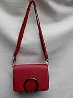 Клатч женский стильный в красном  цвете 801 (L&L)