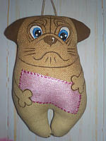Оригинальный подарок  ароматизированная собачка Мопс, фото 1