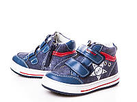 Демисезонные ботинки на мальчика оптом.TJ7625-2 (12/6 пар 21-26)
