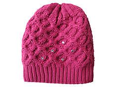 Шапка зимняя женская розовая очень теплая