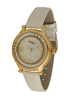 Часы женские классические с бегающими камнями NewDay