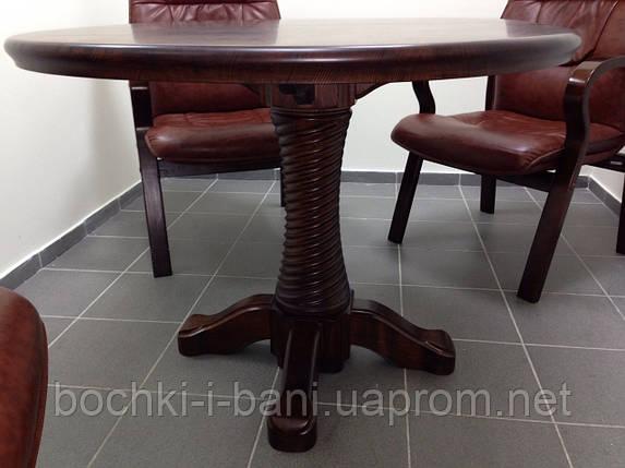 Стол кухонный из массива дерева, фото 2
