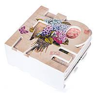 "Набор подставок (костеры) ""Гартензия"", размер10,5х10х5 см"