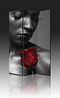 Ширма Промарт Україна Мулатка с розой 120х180 см, фото 1