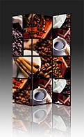 Ширма Промарт Україна Колаж из кофе 120х180 см, фото 1