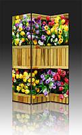 Ширма Промарт Україна Цветы в деревянном вазоне 120х180 см, фото 1