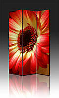Ширма Промарт Україна Красно-желтый цветок 120х180 см