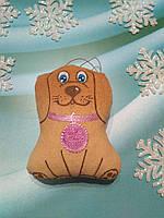 Оригинальный подарок на Новый год ароматизированная собачка Щенок, фото 1