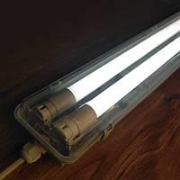 Светильник корпус на 2 LED лампы 1200 мм 18W пылевлагозащищенный IP65 !