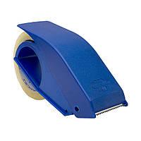 Диспенсер для скотча пластмассовый синий