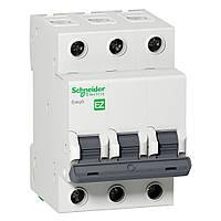 Автоматический выключатель Easy9 3р 63А, С, 4,5 кА