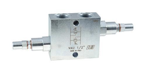 """Подвійний обмежувач тиску 3/8 """", 1/2"""" і 3/4 """" salhydro"""