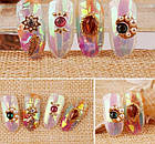 Пленка для ногтей, битое стекло, 50 см, фото 10