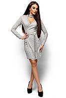 Жіноче коктейльне плаття з чокером Inna