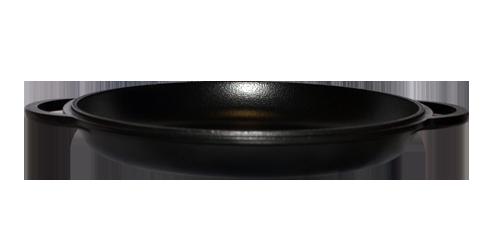 Чугунная крышка-сковорода 400 ЭМ