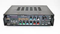 Усилитель MAX AV-313BT+КАРАОКЕ 2 микрофона