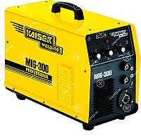 СВАРОЧНЫЙ ПОЛУАВТОМАТ - MIG-300 2в1(ИНВЕРТОРНЫЙ) (KAISER)Зварювальний Напівавтомат інверторний Kaiser