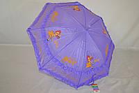 """Детский зонт с рюшей для девочек на 3-6 лет от фирмы """"Universal"""", фото 1"""