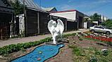 Мемориальные скульптуры ангелов на могиле. Скульптура ангела на могилу из полимера 130 см, фото 4