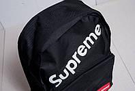 Рюкзак supreme, черный диагональная надпись
