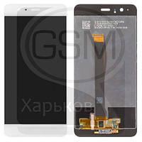 Дисплей (экран) для Huawei Ascend P10 Plus, белый, с тачскрином