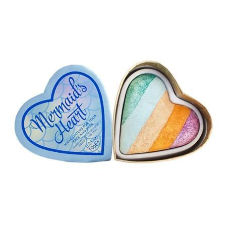 Румяна Хайлайтер Makeup Revolution I ♥ Mermaids Heart