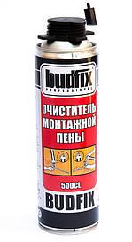 Очиститель пены BUDFIX Будфикс 500мл, смывка монтажной пены. (Турция)