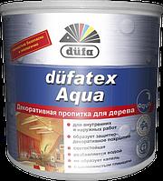 Декоративная пропитка для дерева Düfatex Aqua для внутренних работ 2,5 л (бесцветный)
